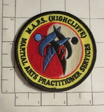 Martial Arts Practitioner Services Patch
