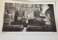 "Wedding At Church 1941 Vintage Photo 3.5"" X 5.5"""