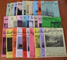 Job Lot 30 x Offshore Pirate Radio Magazines CAROLINE MOVEMENT 1986-1992