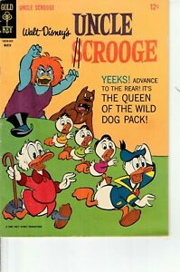 Walt Disney's Uncle Scrooge Queen of the Wild Dog Pack #62 1966 Gold Key  FN-
