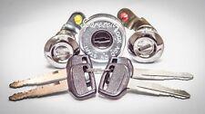 IGNITION BARREL & 2 DOOR LOCK SET for TOYOTA LANDCRUISER HZJ 75 SERIES 4 KEYS