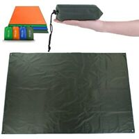 Waterproof Camping Tarp 4 in1 Multifunctional Tent Footprint Lightweight Compact