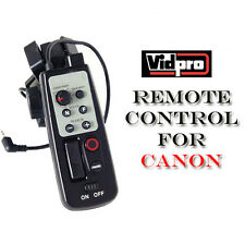 Tripod LANC Remote Control for Canon ZR-1000 ZR-2000