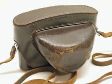 LEICA ORIGINAL LEATHER EVEREADY CAMERA CASE..FITS EARLY M BODIES..LC1