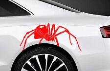 2x Spider Spinnen Autoaufkleber Seitenaufkleber 34cm Tuning SpMan Tribal Tattoo