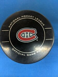 NHL MONTREAL CANADIENS 2010 STANLEY CUP SHER-WOOD GAME PUCK
