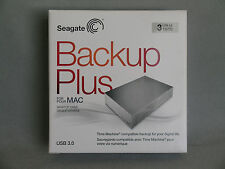 Seagate Backup Plus 3TB Desktop External Hard Drive for Mac/PC Recertified