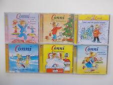 6x CD-Sammlung - CONNI - feiert Weihnachten...Conni im Krankenhaus... Hörspiel.