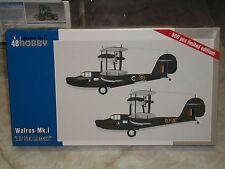 "Special Hobby 1/48 Scale Supermarine Walrus Mk.I ""Air Sea Rescue"""