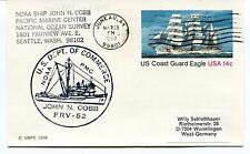 NOAA Ship John N. Cobb FRV-52 Dept. of Commerce Juneau Alaska Polar Arctic Cover