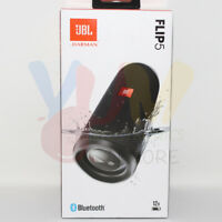 JBL Flip 5 Portable Waterproof Speaker | Midnight Black