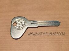 NOS New old stock VW Key Blank Type 1 Beetle Bay Golf Jetta Scirocco Passat Polo