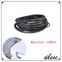 Car Door Edge Trim Molding Carbon Fiber Seal Scratch Protector Guard rty rubber