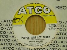 Arthur Conley 45 People Sure Act Funny bw Burning Fire - Atco VG++