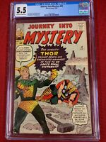 Journey Into Mystery 92 (CGC Graded) - Loki and Thor cover
