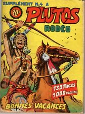 SUPPLEMENT A PLUTOS RODEO 4 (TEX WILLER) MYTHIQUE INTROUVABLE
