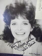 The Nutty Professor JULIE PARRISH hand signed photo