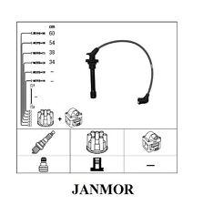 Zündkabelsatz JANMOR Nissan Micra II III 1,0 i 1,3 i