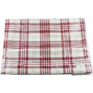Park Designs Peppermint Plaid Kitchen Placemat Set of 4 Christmas Holiday