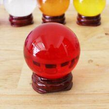 """Naga Eye Amulet Thai Lucky Gem Crystal 5"""" Red Powerful Buddha Talisman charm"""