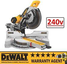 DeWALT DWS780 240V 305mm Double Bevel Sliding Cut Mitre Saw (DW718XPS) RW
