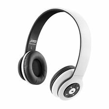 Jam Transit Bluetooth Wireless Stereo Headphones White Certified Refurbished