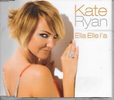 KATE RYAN - Ella Elle L'a CDM 3TR Euro House 2008 Europe (POLYDOR)