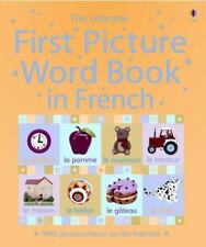 First Picture Word Book in French (First Picture Language Books) (French and Eng
