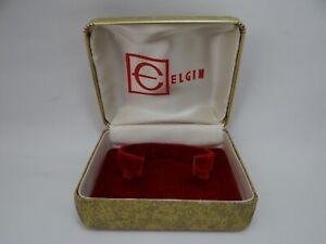 Elgin Watch Box Vintage 1960's