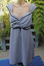 Crossroads Black Stripe Summer Dress Party-work Size 16 -l