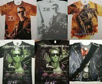 Terminator Movie Arnold Schwarzenegger Front Only Sublimation Print T-Shirt