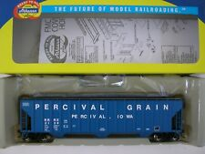 Athearn HO 54' FMC 4700 Covered Hopper Percival Grain RRRX 2128
