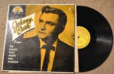 Johnny Cash Songs That Made Him Famous Sun Record lp original vinyl album