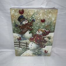 "Springbok Jigsaw Puzzle Gotta Love Snow 500 pc 18"" x 23.5"" New Holiday Snowman"