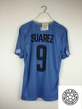 Uruguay SUAREZ #9 14/15 *BNWT* Home Football Shirt (M) Soccer Jersey World Cup