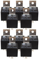 10x 12v Relay 40A/30A 5 pin SPDT car HID Auto truck 5 prong