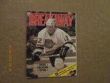 NHL Vancouver Canucks Vintage 1991 Breakaway Team Logo Hockey Program