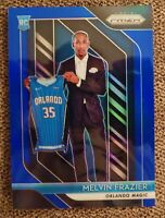 2018-19 PANINI PRIZM #109 MELVIN FRAZIER BLUE PRIZM 081/199 ORLANDO MAGIC MINT