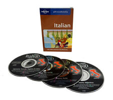 Learn to Speak Italian Language (4 Audio CD Set w/Phrasebook) listen in your car