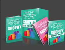 Passive Recurring Income with Shopify Course-Learn How to make money online