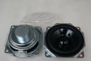 "2pcs 3""inch 80MM 4ohm 10W Neodymium full-range speaker Waterproof Loudspeaker"