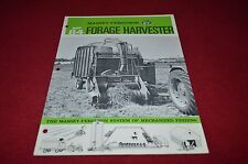 Massey Ferguson 84 Forage Wagon Dealer's Brochure DCPA2