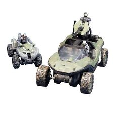 McFarlane Toys Halo Micro Ops Series 1: Warthog + Mongoose w 2 Spartans +Trooper