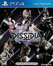 Playstation 4 Dissidia Final Fantasy Nt: SteelBook Brawler Edition New