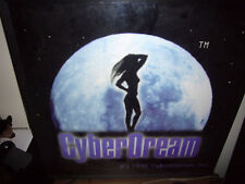 1990s Cyberdream Internet .Com Erotic Adult Lighted Business Sign Anna Marek Era