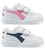 DIADORA PLAYGROUND TD PS scarpe bambino bambina sportive sneakers pelle run
