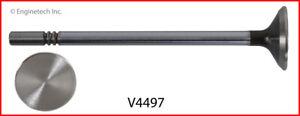 Enginetech Exhaust Valve V4497