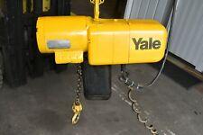 Yale 1 Ton Electric Chain Hoist with Trolly  Single Phase 1 HP N6C17NZ23E