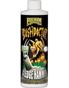 Fox Farm Bushdoctor Sledge Hammer 16 oz 1 lb flush formula hydroponics