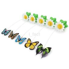 Funny Butterfly Cat Toy Kitten Battery Operated Hunt & Play Extra Butterflies US